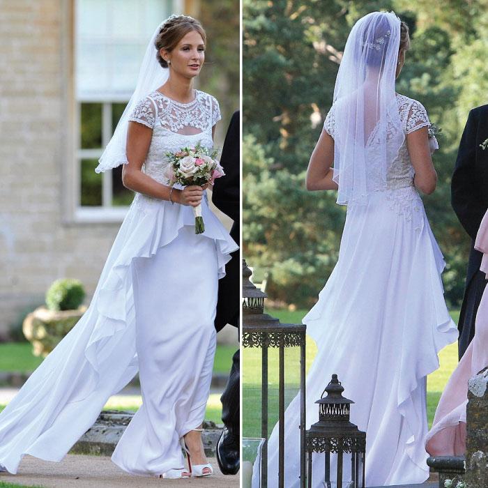 2013 Celebrity Wedding Millie Mackintosh And Professor
